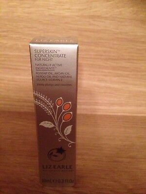 Liz Earle Superskin Concentrate For Night 10ml BNIB