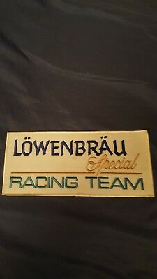 PORSCHE 962 LOWENBRAU SPECIAL RACING TEAM  Patch 1980's
