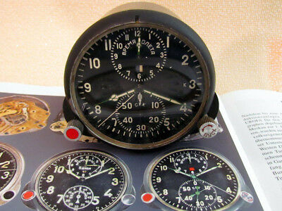 AChS-1 Chronograph Vintage Russian Air Force MIG-21 Helicopter Mi-8 Panel Clock