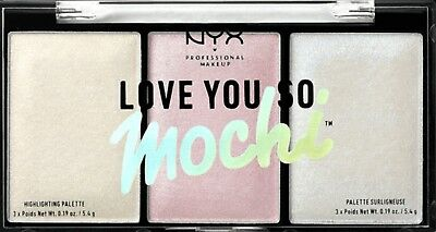 NYX Make Up Love You So Mochi Highlighter Palette Arcade Glam Cool Tones NEW!