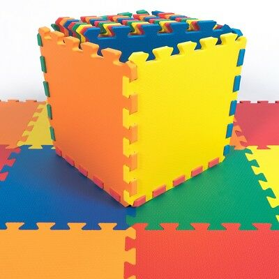 Small & Large Soft Foam EVA Floor Mat Jigsaw Puzzle Tiles Interlocking Play Kids