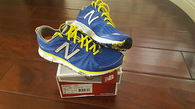 NEW BALANCE MEN'S M1500V2 Running Shoes 10.5 EE wide Blue/Yellow ...