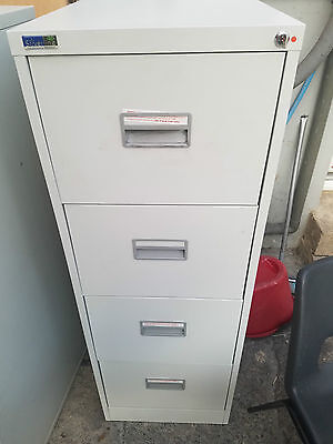 silverline filing cabinet with key four drawer