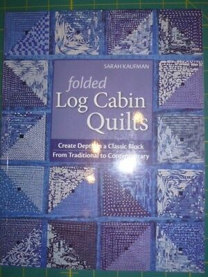 folded log cabin quilts kaufam sarah