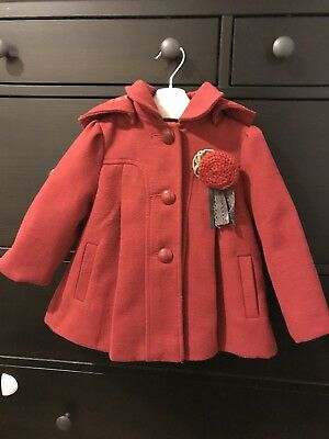 Monsoon Baby Girl Coat