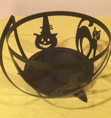 Longaberger Wrought Iron Large Cauldron Holder—New