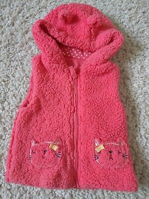 12-18 months girls gillet