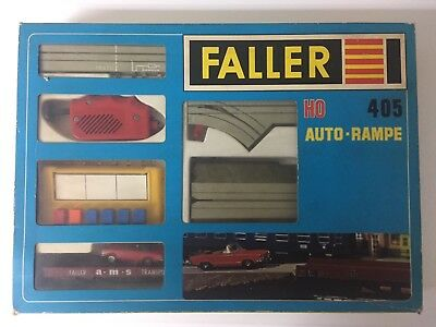 FALLER ams AUTO-RAMPE PACKUNG 405 mit Mercedes SL OVP