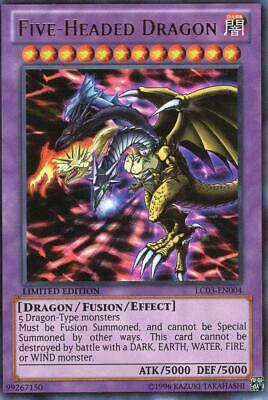 Five-Headed Dragon - LC03-DE004 - Ultra Rare EN NM