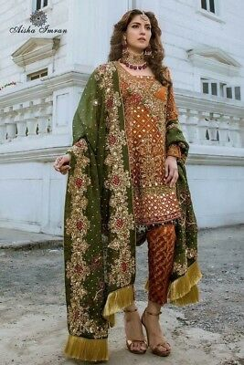 Pakistani Maria B Lawn Collection 2018 Embroidery Designer Shalwar Kameez Suit