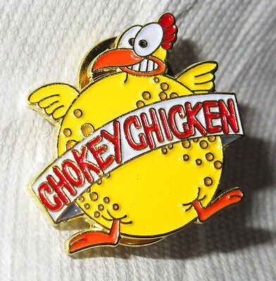New Rocko's Rockos Modern Life Chokey Chicken Pin Enamel Lapel Hat Bag Badge