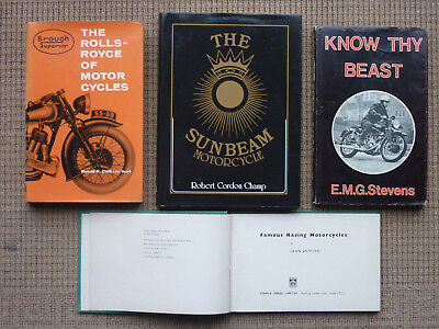 Classic motorcycle books/ manuals (4).