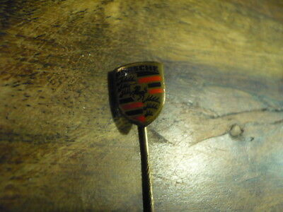 RAR Gesucht Pin Anstecknadel Porsche Wappen Version 1