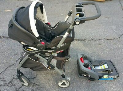Graco SnugRide SnugLock 35 Infant Car Seat Base & Stroller Caddy