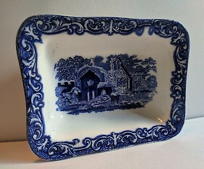 "Vintage George Jones ""Abbey 1790"" Shredded Wheat Dish"