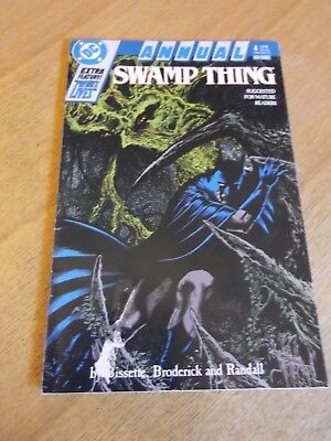 Swamp Thing Annual No 4