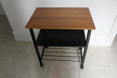 TV Table Trolley Furniture,On Castors, 3 Tiers