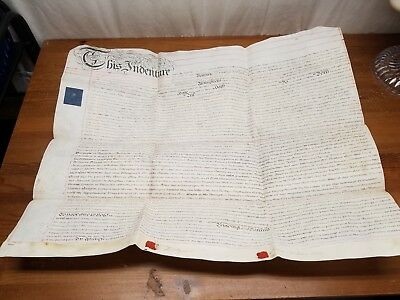 Reproduction Thomas Witherby Hand Written Lease Witherby's Birching Lane