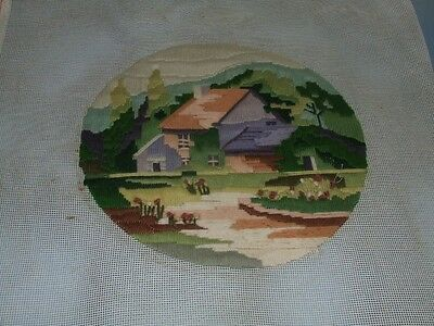 Long Stitch - Farmhouse - Completed