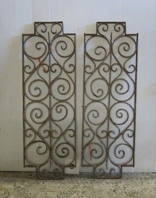 Antique Egyptian Architectural Wrought Iron Panel Grate (IS-003)