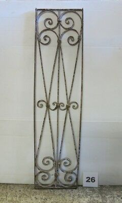 Antique Egyptian Architectural Wrought Iron Panel Grate (IS-044)