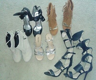 (LOT of 5) women shoes  (size 8.5)