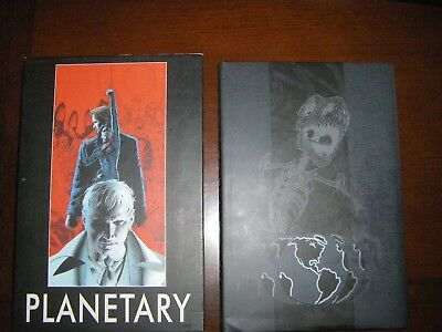 Absolute Planetary #1 and #2 Hardcover