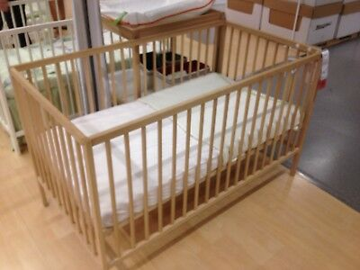 Baby cot IKEA - Please Note NO Mattress