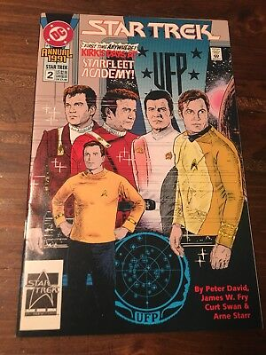 Star Trek #2 Annual 1991 DC Comics VF-