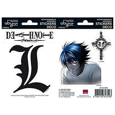 Abystyle ABYDCO149 Death Note adesivi - NUOVO