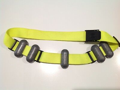 scuba diving weight belt - With 5 X 1kg Weights Included