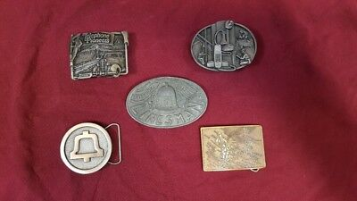 Bell Telephone System Belt Buckles