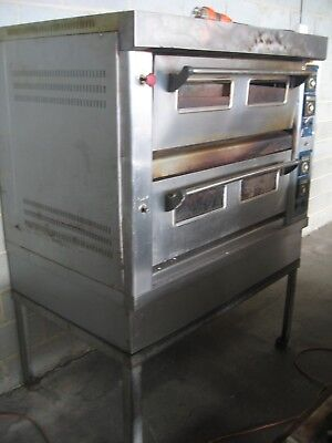 Commercial Double Infrared Pizza Oven 3 Phase