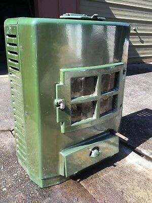 Antique Old Slow Combustion Wood Coal Stove Oven Heater Fireplace