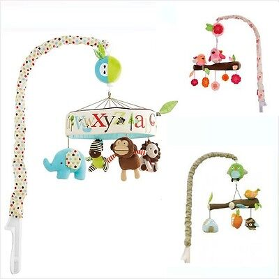Alphabet Zoo / Spring Time Birds / Owl Treetop Friends Baby Cot Musical Mobile