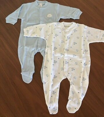 Bnwt Purebaby Sleep Suit 2 Piece Set 6-12 Months Size 0 Pure Baby