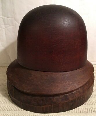 Amazing Antique Police Wooden Hat Mold