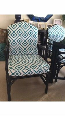 Gorgeous Chinoiserie-style Vintage Chairs