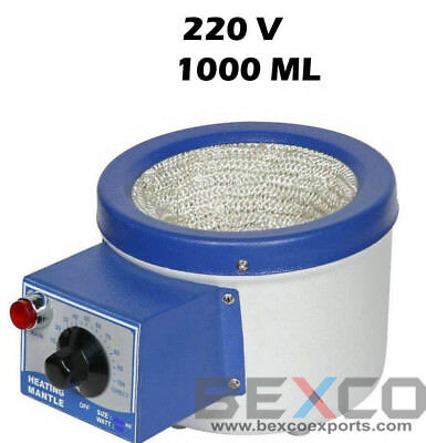 Top Quality,Heating Mantle 220V, 1 Ltr /1000 ml By Brand BEXCO Free DHL Shipping