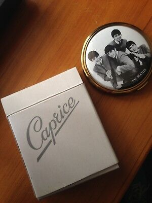 The Beatles Powder Compact-Ultra Rare !! Great Condition !!