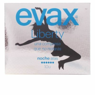 Evax Liberty Night With Wings Sanitary Towels 10 units Women