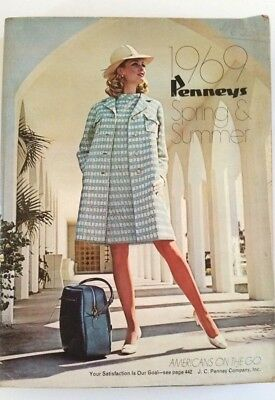 Vintage 1969 Penneys Spring & Summer Catalog