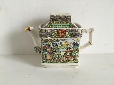 """Sadler Teapot """"Robin Hood 4510"""" In Great Condition"""