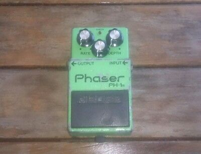 Boss PH1-R, Phaser, Made In Japan in march 1982.  Guitar Effect Pedal