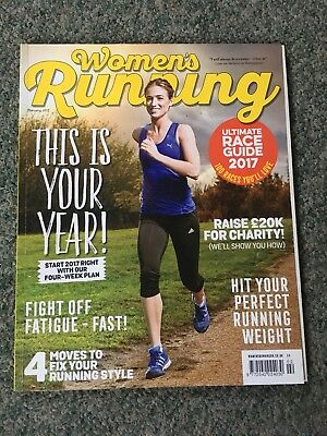 Women's Running Magazine- Feb 2017 Edition