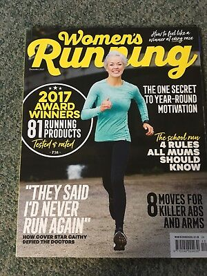 Women's Running Magazine- Dec 2017 Edition
