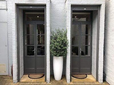 Two Pairs of Matching French Timber Doors