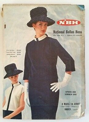 Vintage 1965 National Bellas Hess Spring and Summer Catalog