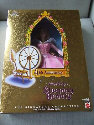 Walt Disney's Sleeping Beauty 40th Anniversary Doll NEW IN Box Never Removed