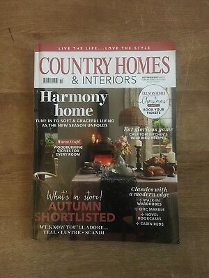 Country Homes And Interiors Magazine October 2017